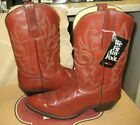 Nocona Boots Men's Western Leather calf Tan/ Brown Boots 803603406