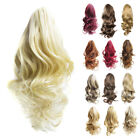40cm Long Wavy Ponytail Clip On Hair Extension Hairpiece (Add Hair Volume)