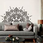 Mandala Art Vinyl Wall Stickers Yoga Studio Pattern Decal Headboard Decoration