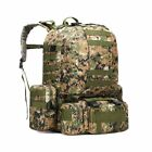 50L Tactical 4 in 1 Military Outdoor Hiking Backpacks Trekking Camping Rucksack