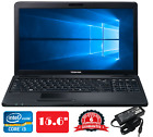 "Cheap&fast 15.6/14.1"" Laptop Core I3 8gb Ram 500gb Hd Wifi Win10 Warranty"