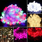 Electric Plug-in 10M 100 LED Berry Ball Xmas Bulb Fairy String Lights Outdoor/In