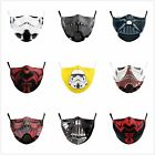 Adult Mouth Protective PM2.5 Filters Adjustable Darth Vader Washable Face Masks $16.99 AUD on eBay