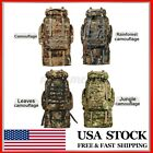 110L Military Tactical Backpack Daypack Bag for Hiking Camping Outdoor Sport *US