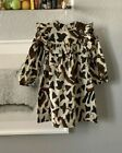 Ulla Johnson Girls Baby Kids KIMAYA Floral Print Brown Dress !!BNWT - Limited!!
