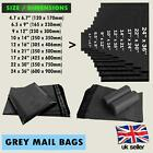Grey Mail Bags Strong Self Seal Poly Postal Heavy Duty Post Mail Bags Cheap UK