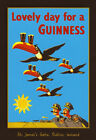 Lovely Day For A Guinness Vintage Beer Advertising Poster