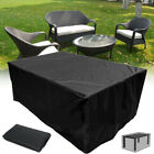 Au 9 Size Waterproof Furniture Cover Outdoor Garden Yard Patio Table  > As