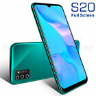 2021 New 6.6 In Android Smartphone Unlocked S20 Mobile Phone Dual Sim Quad Core