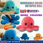 Double-Sided Flip Reversible Octopus Plush Toy  Squid Stuffed Doll Toys
