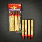 """Sparkling Candles Birthday Candle Party Wedding Sparklers Gold Cake Candles 5"""""""