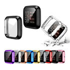 For Fitbit Versa 2 Full Screen Protector Watch Slim Case Protect Bumper Cover