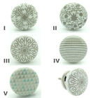 Success Grey Ceramic Door Knobs Porcelain Kitchen Door Handle Cupboard Pulls NEW