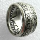 Kyпить ????Morgan Silver Dollar Coin Ring 'eagle' 90% Silver Handmade???? In Sizes 8-16 на еВаy.соm