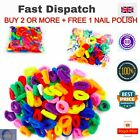 100 PACK OF ASSORTED COLOURS GIRL BABY TODDLER KIDS ELASTIC HAIR BAND BOBBLES UK