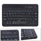 "Rechargeable Wireless 7"" Keyboard Keypad For iOS Android Windows + USB Charging"