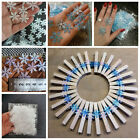200/300pcs Snowflakes Decorparty Christmas Home Diy Handmade Home Decorati^p