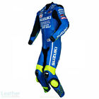 Suzuki Motorcycle Suits Leather Protection Dress Biker Racer Armour Sport Adults