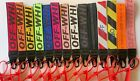 Off White Inspired Keychain Lanyard Industrial Badge Id Belt Wrist Strap 10.5