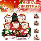 2020 Xmas Christmas Tree Hanging Ornament Family Ornaments Santa Claus Decordiy