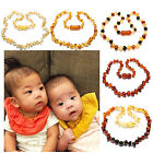 Baltic Amber Necklace Genuine Natural for Child Baroque Raw and Polished