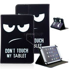 "US Cover For 7"" Tab Android Tablet Universal Leather Cool Penguin Printing Case"