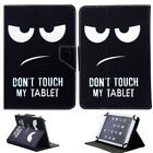 "New For Onn 7"" 8"" 10.1"" inch Tablet Android Tablets Universal Leather Print Case"