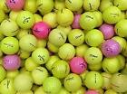 20/40 x PEARL/GRADE A Yellow Orange Coloured Golf Balls (Premium Brands)