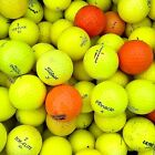 40 x GRADE B/C Yellow Orange Coloured Golf Balls for Practice (BUDGET BRANDS)