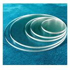 1/4' Round Table Top Acrylic Circle Disc Clear Plexiglass - 11 inch Diameter
