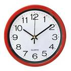 Modern Large Luminous Quartz Wall Clock Non-ticking Glow In The Dark Home Office