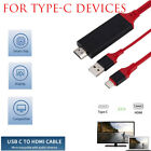 USB-C Type C to HDMI HDTV TV Adapter Cable For Android Phone...