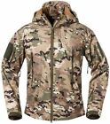 ReFire Gear Men's Soft Shell Military Tactical Jacket Outdoor Camouflage Hunting