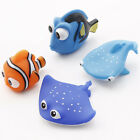 Gift Kid Tub Rubber Baby Bath Float Water Bathroom Animals Toys Play Toy