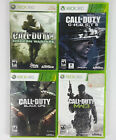 Call Of Duty Xbox 360 Games Lot Of Four Or Your Choice