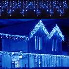 US 96-960LED Christmas Fairy Icicle Club Curtain Lights Lamp Xmas Indoor Outdoor