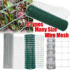 Galvanised Welded Wire Mesh PVC Coated Chicken Poultry Aviary Fence Hutch Rabbit
