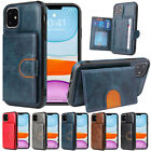 Slim Leather Card Stand Slot Back Case Cover For Iphone 12 Mini 11 12 Pro Max Se