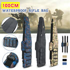 """47"""" Tactical Carbine Rifle Range Gun Carry Case Double Padded Backpack Molle"""