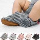 Unisex Baby Stripe Printing Soft Boots Soft Crib Shoes Toddler Boots Kid Shoes