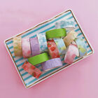 1Pc Fruit Pattern Washi Paper Tape DIY Scrapbooking Planner Stickers Stationery