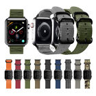Watch Band For Apple Watch,  Military Woven Nylon iWatch SE 6 5 4 3 Wrist Strap