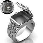 Fashion 925 Silver,gold,rings For Men Punk Party Jewelry Gift Size 6-13