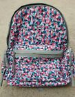 Backpack Gray Black Multi Color Aqua  Full Size School Work Office Lightweight