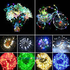Xmas Wedding Party Chriatmas Decor 10-80 LED String Fairy Fancy Lights Lamps UK