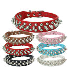 Collar Toy Puppy S-XXS Puppy Faux PU Leather Small Dog Spiked Studded Rivets Pet