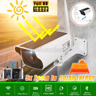 HD Outdoor Wireless Solar Powered IP Camera WiFi CCTV Security Night Vision Cam