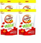 NEW Goldfish Veggie-Yum Crackers 4 oz. Bag Filled With 1/3 Serving Of Veggies...