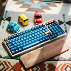 17/87/104 Keys SA ABS Keycaps Double Shot Ball Shape Keycaps Set