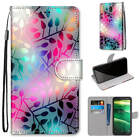 Magnetic Leather Strap Flip Stand Card Slots Case Cover For Oneplus/ZTE/Nokia